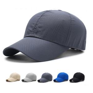 Summer Breathable Mesh Baseball Cap Men Women 2018 Summer Snapback Caps Quick Dry Baseball Caps