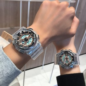 Ins Wind Non-Mechanical Fashion Waterproof Watch Men Unicorn Couples Men and Women Students Korean-Style Simple Electronic Watch