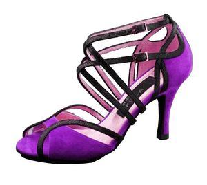 XSG Nuove Promozioni morbido fondo scarpe da donna ballo latino popolari Le scarpe da ballo comunione Fashion Square sala da ballo in vendita in Europa
