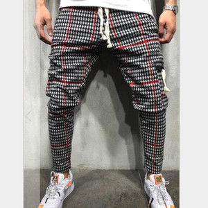 Mens Jogger Pants New Fashion Style Casual Sports Striped Trousers with 3 Colors Asian Size M-3XL