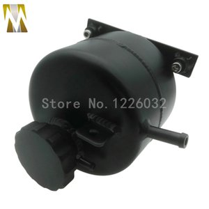Alloy Polished Black 1.4L Radiator Coolant Expansion Tank For 02-06 R53 and 05-08 R52 S Convertible