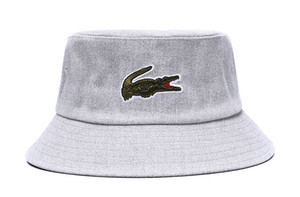 챙이 넓은 여름 모자 오프 뜨거운 판매 새로운 흰색 여행 어부 레저 버킷 모자 단색 패션 남성 여성 플랫 톱