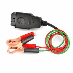 Substituição de memória Saver ferramenta eléctrica de emergência plug Cable Car Computer Universal Bateria Conector Automotive Power Supply