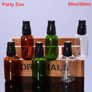 500 X vazio Transparente / Bomba / Verdes Viagem Wash Cosmetic Foam Shampoo spray 50ml Bottle / 80ml