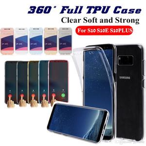 Effacer TPU pour Samsung S20 PLUS Ultra Note 10 A20E A20E M30 S10 Iphone XS MAX XR 8 11 Pro Max gel en cristal transparent souple de silice couverture