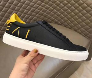 Hommes Femmes Luxe Designer Rivets Chaussures À Lacets Unisexe Marque Véritable En Cuir Baskets Camouflage Confortable Causale Chaussures Taille 35-45