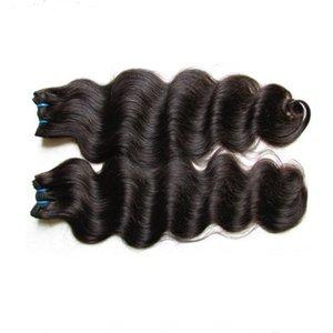 9A Brazilian Body Wave Bundles Deals Unprocessed Brazilian Straight Human Hair Extension deep wave hair water wave virgin hair bundles