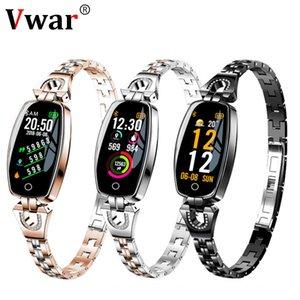 Wristband di lusso delle donne Sport Fitness Tracker Bracciale Monitor di frequenza cardiaca Smart Band Miglior regalo per la ragazza Xiaomi Iphone J190521