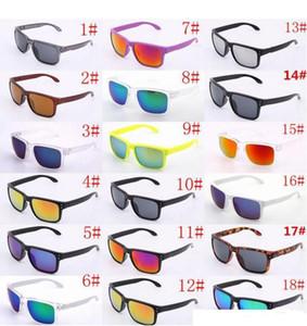 Occhiali da sole di lusso UV400 Protection 9102 Occhiali da sole sportivi Uomo Donna Unisex Summer Shade Eyewear Outdoor Cycling Sole in vetro 18 colori 10 paia