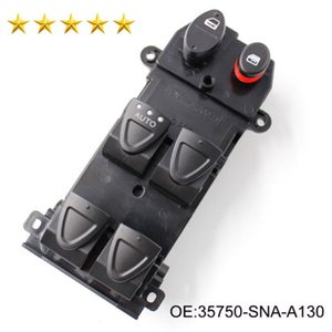 High Quality 35750-SNA-A130-M1 35750-SNA-A130 Power Window Lifter Switch For H onda Civic Hybrid Civic 2006-2010 Car Switches 35750SNAA130