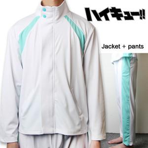 2019 Haikyuu !! Aoba Johsai Secundaria Voleibol Equipo Sprotswear cosplay Oikawa Escuela Tooru uniforme de la chaqueta y PantsMX190921