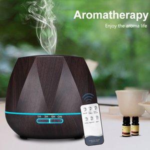 500ML telecomando umidificatore olio essenziale diffusore Humidificador creatore della foschia LED Aroma Diffusore Aromaterapia