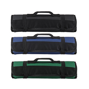 Pocket Knife Portable 20 Storage Chef Roll Bag Carry Slots Kitchen Case Bag Sgomh
