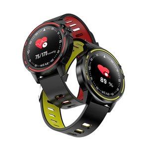 L8 Männer Smart Watch IP68 wasserdichte reloj inteligente EKG Smartwatch PPG Blutdruck Herzfrequenz Fitness-Armband-Sport-Uhr.