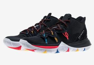 Дошкольное Кирие Друзья Grade школы мужчины женщина продажи с Box Ирвинг 5 детьми Обувь для баскетбола сохранить размер Бесплатной доставки 32-46
