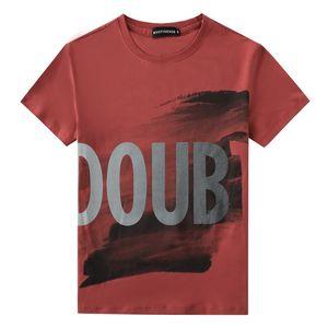 10 Stili Stampa da uomo T Shirt Slim Fit Mens O-Collo T-shirt manica corta Slitta casuale Grande taglia M-5XL