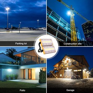 50W led flood light spotlight outdoor construction site chandelier outdoor waterproof advertising projection lamp factory workshop lighting