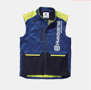New husqvarna off-road motorcycle clothing riding vest multi-functional rally clothing long distance protective clothing