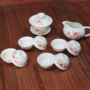 تشمل جودة عالية الصينية الكونغ فو مجموعة الشاي DRINKWARE الأرجواني كلاي السيراميك Binglie الشاي كأس عاء، وعاء الشوربة المساعد على التحلل علبة شاي Chahai