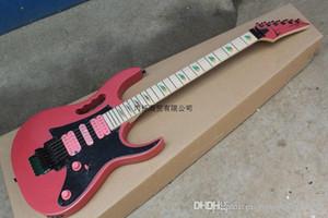 재고 무료 배송 새로운 도착 IBZ JEM 7V 핑크 일렉트릭 기타 DiMarzio 픽업