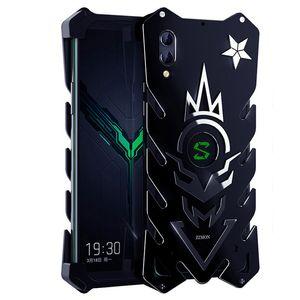 "Para Xiaomi Black Shark 2 Zimon Luxury Nuevo Thor Heavy Duty Armor Metal Funda de aluminio para teléfono Para Xiaomi blackshark 2 Case 6.39 """