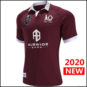 BIG SIZE 5XL 2020 new MAROONS RUGBY JERSEY Australia Queensland QLD rugby Jerseys Maroons Jersey Rugby League shirt EMS free shipping
