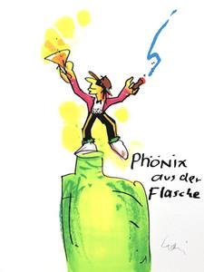 Phönix aus der Flasche Home Decor Handgemalte HD Druck ölgemälde Auf Leinwand Wandkunst Leinwand Bilder 200223