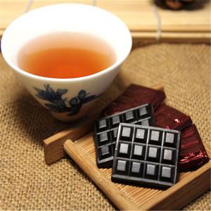 5pcs 2009 Anno Shu Puer, Yunnan resina PU-Erh, cinese Puerh Cha Cream Gao
