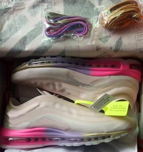 Yeni Max 97 kapalı bullets Elemental Gökkuşağı koşu ayakkabıları Erkekler Kadınlar Hava Yastığı açık rahat spor ayakkabı size36-45