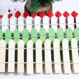 Cercas de madeira de 7 * 89 cm para a árvore de Natal