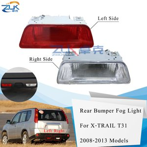 ZUK für Nissan X-Trail XTRAIL T31 2008 2009 2010 2011 2012 2013 Nebelschlussleuchte Nebelscheinwerfer mit Glühlampe Rückfahrscheinwerfer Reflektor