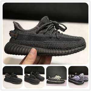 Original Triple Kids Designer Shoes Mesh Clay Kanye West Fashion Toddler Trainers Big Small Boyezzysyezzyboost350v2