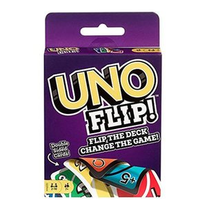 Party Games Crafts UNO Card Games Wildes DOS Flip Ausgabe Brettspiel 2-10 Spieler Sammeln Game Party Fun Entertainment