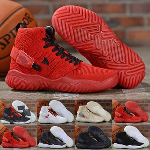 2020 Новый Jumpman Apex-React High Training Баскетбол обувь Черный Белый Красный Серый Apex Реагировать Кроссовки мужские тапки обувь