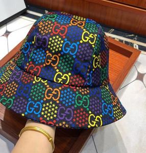 2020 bobs de luxe chapeaux pliable de haute qualité plage pêcheur noir vente plié bol casquette de la femme d'hommes Avec l'étiquette d'origine