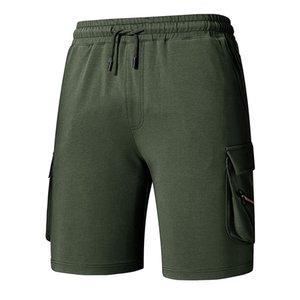 Tactical pantaloncini estivi gli uomini di moda casual da uomo traspirante Pantaloni Solid Pants Beach brevi coulisse Shorts Uomo Abbigliamento Uomo