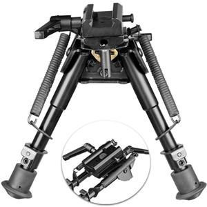 20 mm Ray Dağı için 360 Derece Döner Adaptör Dağı ile 6-9 İnç Hızlı Ayır Döner bipod