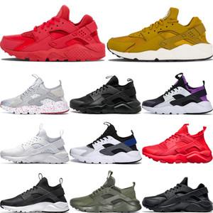 nike air huarache shoes Nuevo llega Hombres Huaraches 4.0 1.0 Ultra Run Zapatos para correr Wome Triple negro Huarache Hombre Zapatillas de deporte Huraches rojo Sport Hurache