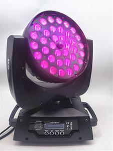 36x12 W 4in1 Zoom Led Moving Head RGBW light DMX512 Led lavage de la tête Mobile Light Beam Effect