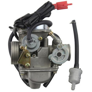 PD24J carburateur 24mm électrique Carburateur pour GY6 100cc 125cc 150cc 200cc moto moteur VTT Go Kart cyclomotoristes dirrt bikee