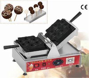 Commercial 110v 220v Mini Waffle machine nouveau design en acier inoxydable cône Waffle Maker Lollipop Gaufrier