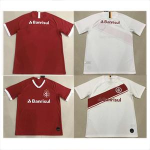 19 20 스포츠 클럽 Internacional 축구 유니폼 홈 빨간색 빨간색 흰색 N. LOPEZ FABIANO DALESSANDRO POTTKER L.DAMIAO 남자 축구 셔츠 2019
