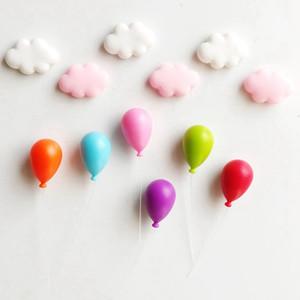 new 6PCS Household Fridge Magnet For Blackboard Household Festive Party Supplies Fridge Magnets Colorful Balloon Fridge Magnets