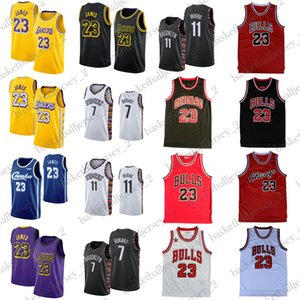 James 23 Jersey 11 Irving Kevin Durant 7 maglie Michael 23 uomini NCAA College Basketball Maglie