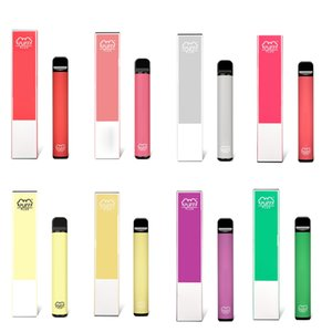 High Quality Puff Bar Plus Disposable Vapes Kit 800 puffbars 550mAh Battery 3.2ml Cartridges Vape Pen Vape Cart Packaging e cigarette.