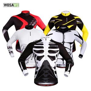 Wosawe A Mountain Country Le commandant manches Riding Veste de costume route service rapide Do not sweat bicyclette Vêtements cyclisme