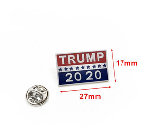Donald Trump Brooch Metal Button Badge Cloth Pins United States President Campaign Women Men Jewelry Newest
