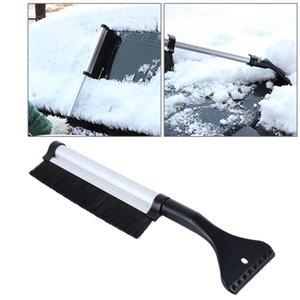 Лобовое стекло Снег кисти скребок автомобилей Sonw льда Лопата Лопата совок Vehicle окна Алюминиевые Выдвижная Snow Dust Remover SZ516