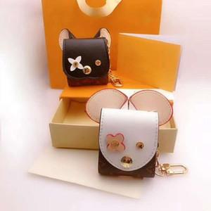 Mode chaud vente sac écouteurs double usage trousseau de luxe concepteur trousseau design