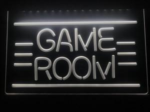I338 GAME ROOM Displays Toys TV LED Neon Light Sign